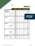 Lista Edificaciones Pavco