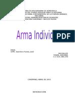 Armamento Individual