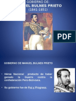 Disertación Manuel Bulnes