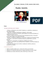 Secuencia sobre a radio