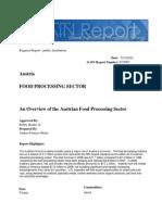 Industria Alimentos Pocesados Austria USDA