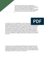 TV DRAMADisability Example paragraphs