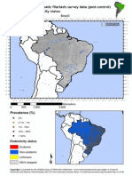 Global Atlas of Helminth Infections - Distribution of Contemporary LF Survey Data in Brazil - 2014-04-02