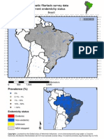 Global Atlas of Helminth Infections - Distribution of Pre-control LF Survey Data in Brazil - 2014-04-02 (1)
