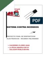 Sistema Contra Incendios automatico