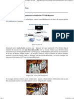 Análisis de Los Equipos Utilizados en Una Instalación FTTH de Movistar _ Proyecto Innovación Sobre Fibra y Redes