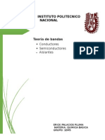 TEORIA DE BANDAS