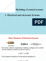 Modeling of Electrical Systems