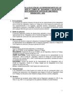 Reglamento Del Comite Electoral Del Comite de Seguridad y Salud en El Trabajo