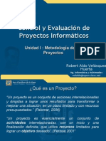 Metodología de los Proyectos