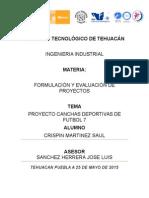 Proyecto Canchas de Futbol 7