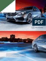 Mercedes-benz-e-class-w212 Brochure 00 2270 de de 11-2012