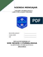 1.BUKU AGENDA MENGAJAR Guru.doc
