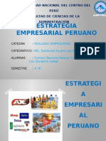 Estrategia Empresarial Peruano