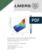Aerodynamic Analysis of the NREL 5-MW Wind