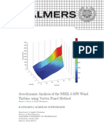 Aerodynamic Analysis of the NREL 5-MW Wind