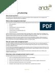 Data Management Planning Awareness