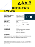 Hawker Hunter T7 / G-BXFI bulletin 3 / 2015