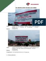 Informe Chongoyape