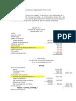 Caso Practico de Consolidacion de Estados Financieros
