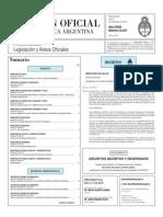 Boletín Oficial República Argentina 2 de noviembre de 2015