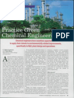 Practice Green Chemical Engineering