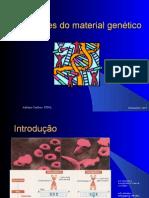 Alterações do material genético