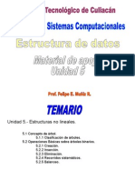 Estructura de Datos Isc Unidad 5