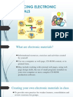 Producing Electronic-- Materials (1)
