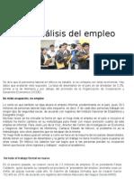 1.1 Analisis Del Empleo
