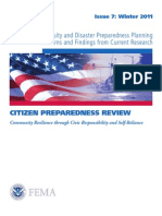 Business Continuity and Disaster Preparedness Planning