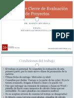 Primer Módulo - Trabajo de Cierre Evaluación de Proyectos