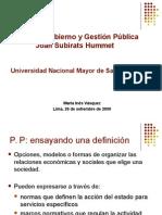 Politicas p III