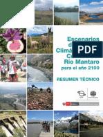 6 Escenarios de Cambio Climatico Cuenca Del Mantaro Al 2100 - Junin