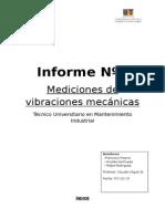 Mediciones de Vibraciones Mecanicas
