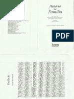 Lévi-Strauss e Burguiére, André Et. Al. HISTÓRIA DA FAMILIA .