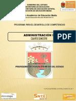 Administracion II programa