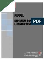 Modul 1 Kedudukan Dan Struktur Organisasi