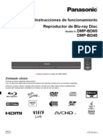Descargaspla Pla Digitales Blu Ray Reproduc Dmp-bd65pu Documento Manual de Usuario Dmp-bd45-65 Manual de Usuario
