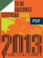 Instituto de Investigaciones Estéticas - UNAM - Publicaciones 2013