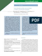 pseudoartrosis infecciosa estudio de caso