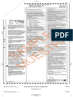 Ohio sample ballot