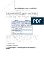 elementos neumáticos e hidráulicos