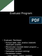 Evaluasi Program (Teori)