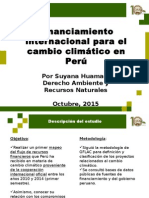 Financiamiento Internacional para CC Perú