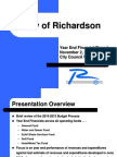 Richardson FY2014-2015 financial report