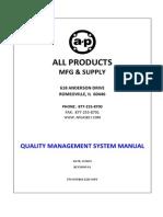 Quality Management System Manual Rev9.1