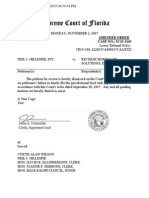 Florida-SC15-1145-Dismissed-Amended Declaration of Neil J. Gillespie