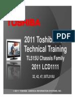 Toshiba_Chassis_TL515U - Manual Entrenamiento