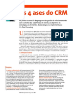 HSM-Os 4 ases do CRM